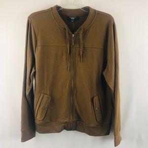 Tabots zip up sweater SZ: PL NWT
